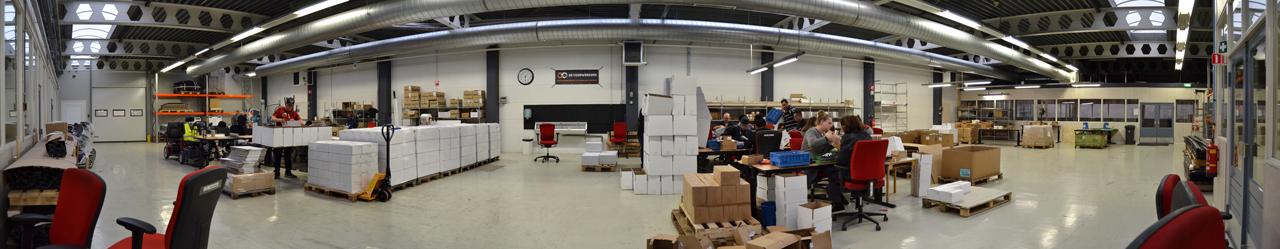 Montage en assemblage werkplaats